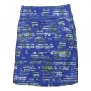 Callaway Stainglass Floral Skort (amporo blue)