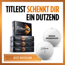 Titleist 3+1 Promotion inkl. Personalisierung