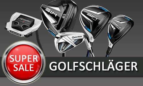 Super-Sale Golfschläger