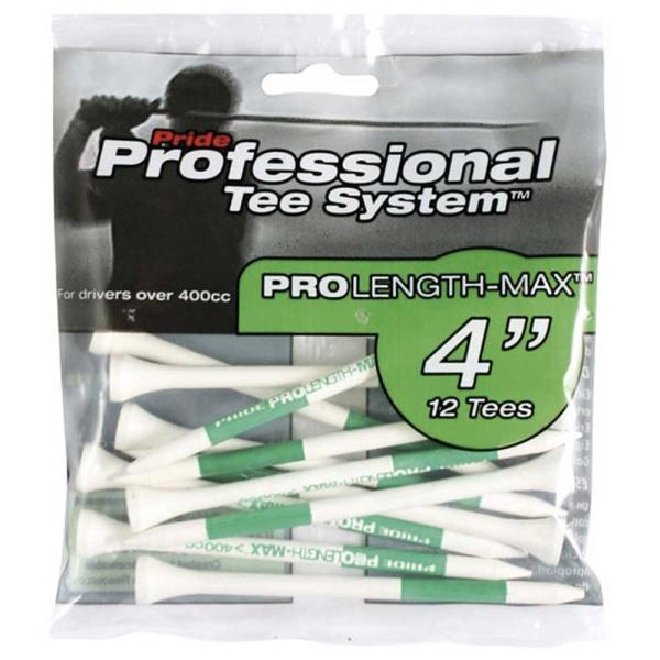 "Pride Professional Golf Tees 102mm (4"") grün (12 Stk.)"