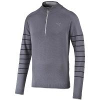 Puma Herren 1/4 Zip Novelty Sweater (folkstone gray-black) M