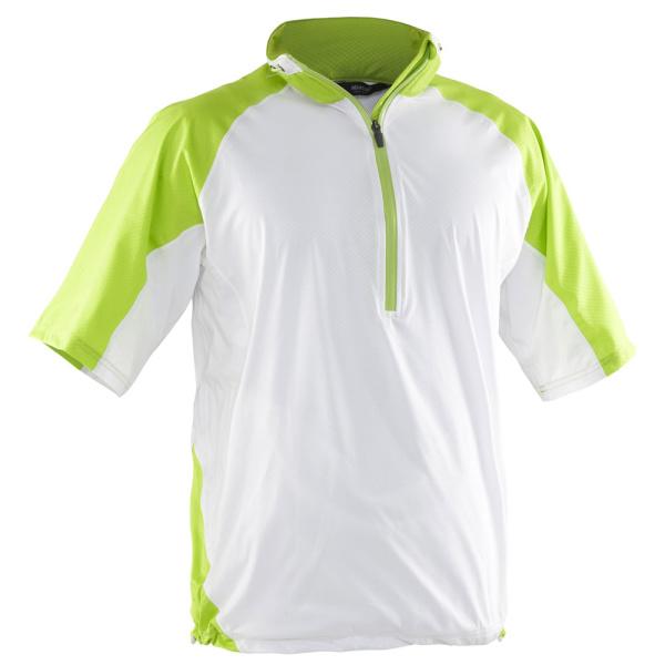 abacus BARTON Rain Shirt (white/grasshopper)