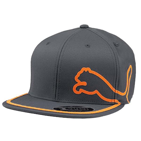 Puma Youth Pro Tour Cap (darkgray/orange)