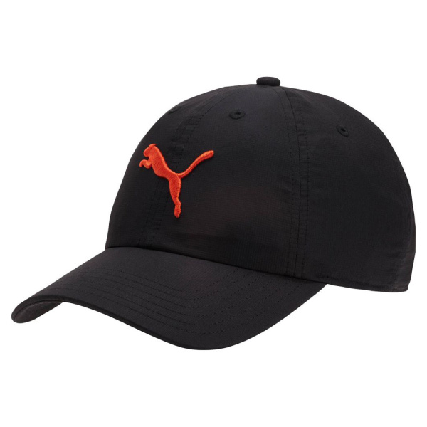 Puma Classic Relaxed Cap (black/orange)