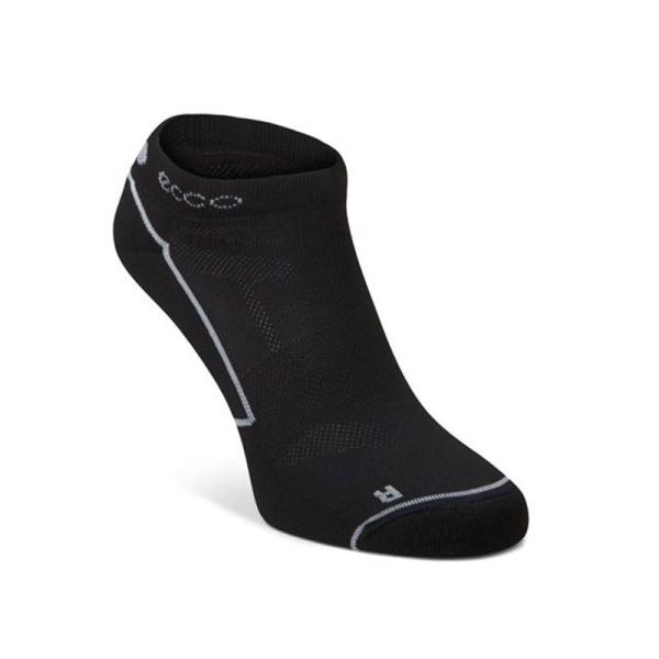 Ecco Golf Socken Herren kurz (schwarz/weiß)
