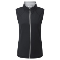 FootJoy Fullzip Knit Vest (black)