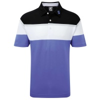 FootJoy RAGLAN CHEST STRIPE Poloshirt...