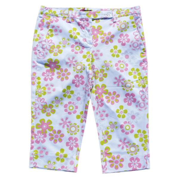 girls golf Capri (pink flower)