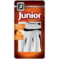 FootJoy Junior Golfhandschuh (weiß/schwarz)