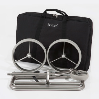 JuStar Carbon 3-Rad Trolley