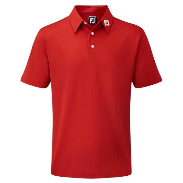 FootJoy Stretch Pikeé Polo Junior (red)