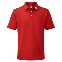 FootJoy Stretch Pikeé Polo Junior (red)