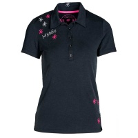 "girls golf Polo ""mystic"" navy"