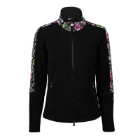 Daily Sports Lilian Cardigan Fleece Jacke (flowerprint)