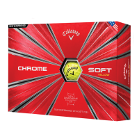 Callaway Chrome Soft Yellow (12 Stk.)