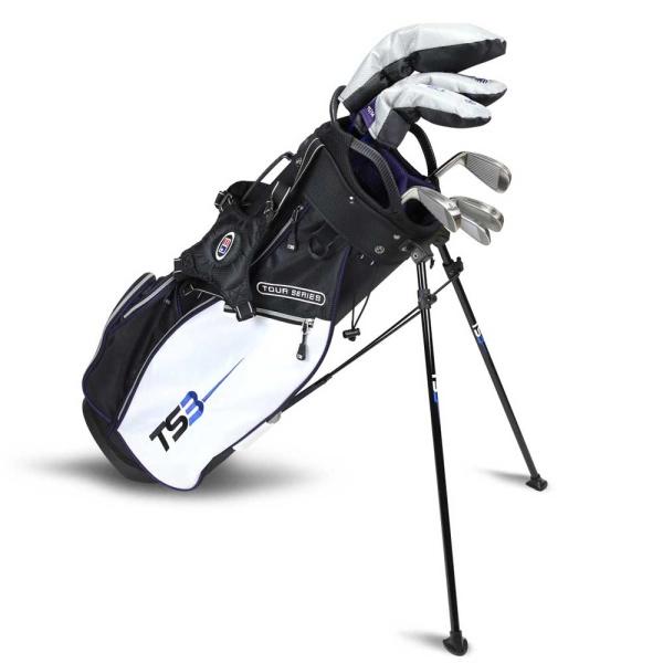 U.S. Kids Golf Tour Series TS3-54 7 Schläger (Graphitschaft) Carry-Bag Set (137-145cm)