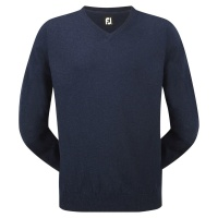 FootJoy Lambswool V-Neck Pullover (navy)