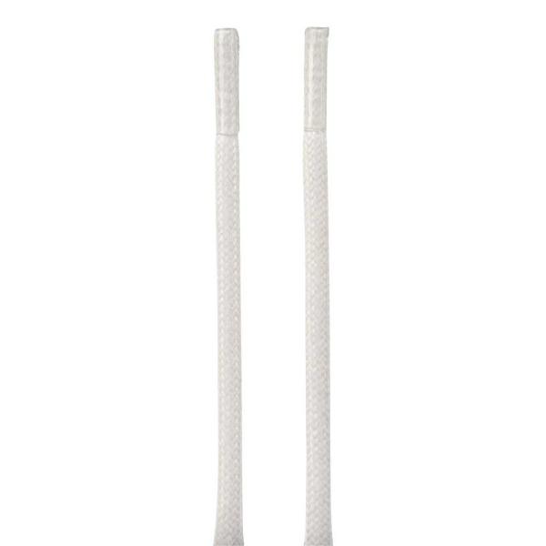 Ecco Schnürsenkel rund gewachst 80 cm (weiß)