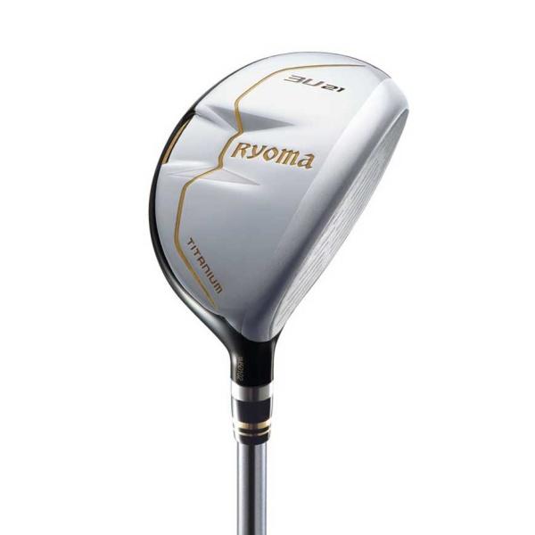 ryoma Golf Type-U Titanium Utility silver mit Graphite Design Tour AD-U Schaft