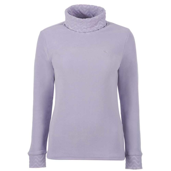 Chervo Tutto Rollkragen Fleece Pullover (lilac)