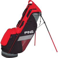 PING Hoofer Lite Standbag (Scarlet/Black/Grey)