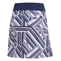 adidas Ultimate Printed Sport Skort (night indigo/true pink)