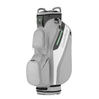 TaylorMade Ladies Lite Cartbag (gray/white)