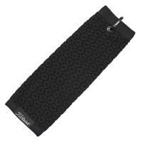 Titleist Tri-Fold Towel (black)