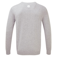FootJoy V-Neck Pullover (heather grey)