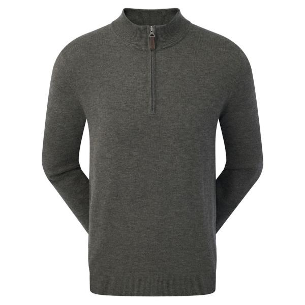 FootJoy 1/2 Zip Pullover (charcoal)