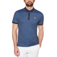 Original Penguin The Checkerboard Pete Polo (iris)