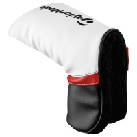 TaylorMade Headcover Putter (white/black/red)