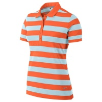 Nike Bold Stripe Polo (turf orange)