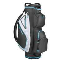 TaylorMade KALEA Damen Cartbag (Charcoal/Blue)