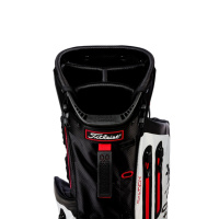 Titleist Players 4 Plus StaDry Standbag (black/charcoal/red)
