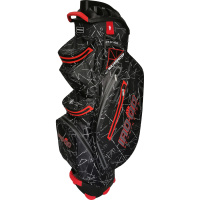 Bennington IRO-QO 14 Waterproof Cartbag (black flash/red)