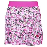"girls golf Skort ""love is in the air"" (pink/black)"