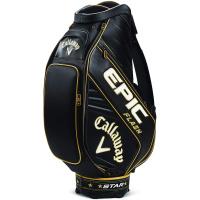 Callaway Golf EPIC Flash STAR Staff Bag (Black/Gold)