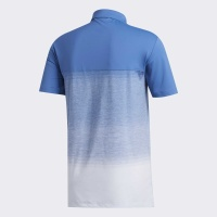 adidas Ultimative 1.1 Print Polo (trace royal/sky tint)