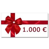 Gutschein prisos-golf über 1.000,00 EUR