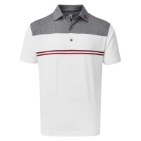 FootJoy Jersey Performance Polo (navy/red/white)