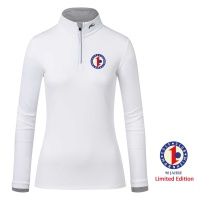 KJUS Feel Half-Zip (white) - 90 Jahre GCMV