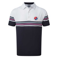 FootJoy Stretch-Pikee colour block - Logo GC...