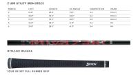 Srixon Z U85 Graphite #4 (23°) Miyazaki Mahana (R-Flex) (RH) DEMO A