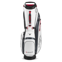 Callaway Golf Hyper Dry C Double Strap Stand Bag 2020 (white/black)