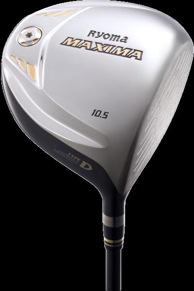 ryoma Golf Type-D Titanium Driver mit Graphite Design Tour AD-M2 D Schaft