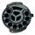 Bennington QO 9 Waterproof Cartbag (black/white/gold)