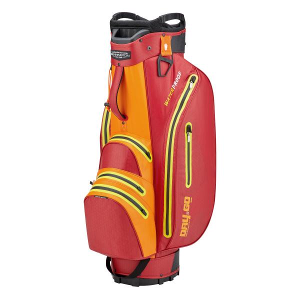 Bennington Grid-Organizer 14-Way Waterproof Cartbag (red/orange/yellow)