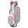 Bennington Grid-Organizer 14-Way Waterproof Cartbag (silver/white/pink)