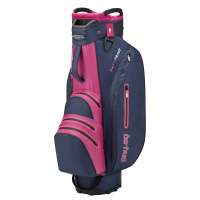 Bennington Grid-Organizer 14-Way Waterproof Cartbag (navy/purple/pink)